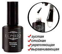Гель-база Komilfo Gel Base Coat - основа-корректор для гель-лака, 15 мл