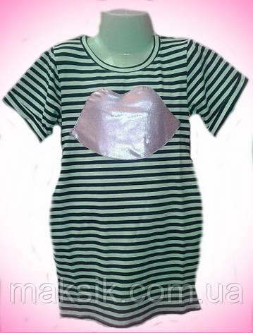 Стильное летнее платье для девочки   р.104-134, фото 2