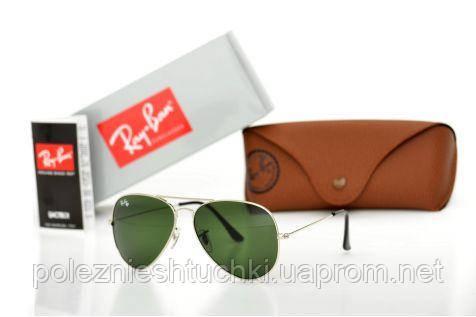 Очки солнцезащитные Ray Ban Оригиналы Модель 3026D-green-s