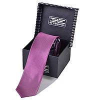 Мужской шелковый галстук ETERNO (ЭТЕРНО) EG596