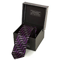 Галстук ETERNO Мужской узкий шелковый галстук ETERNO (ЭТЕРНО) EG615