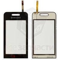 Тачскрин (сенсор) для мобильного телефона Samsung S5230 TV, черный