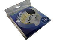 Бумажные накладки на унитаз 10шт