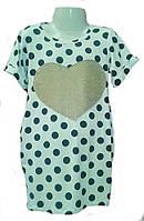 Стильное летнее платье для девочки   р.104-134