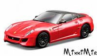 Модель автомобиля Ferrari 599 GTO, красный, 1:64, Bburago, 599 GTO, Красный