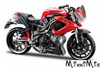 Модель мотоцикла Benelli TNT R 160 (красный), 1:18, Bburago, Benelli TNT R 160 (красный), Красный