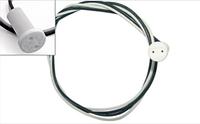 Патрон LEMANSO G4 керамическый  провода 50 см для люстры  LM100