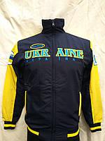 Спортивный костюм взрослый Украина дзюдо сине-желтый