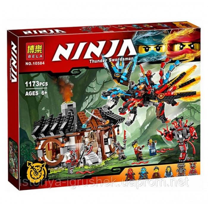 Конструктор Bela Ninja 10584 «Кузница Дракона», 1173 дет