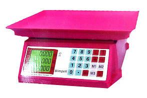 Торговые весы Wimpex 50 kg WX-5018 mini, фото 2