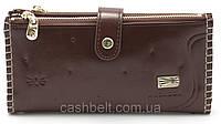 Женский мягкий кошелек коричневого цвета SACRED art.FW-0918