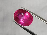 100% ПРИРОДНЫЙ РУБИН - 8.50 cts. - 13.0 x 10.0 mm
