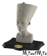 Пазл 3D EDUCA Скульптура, Нефертити, 190 элементов, Серый
