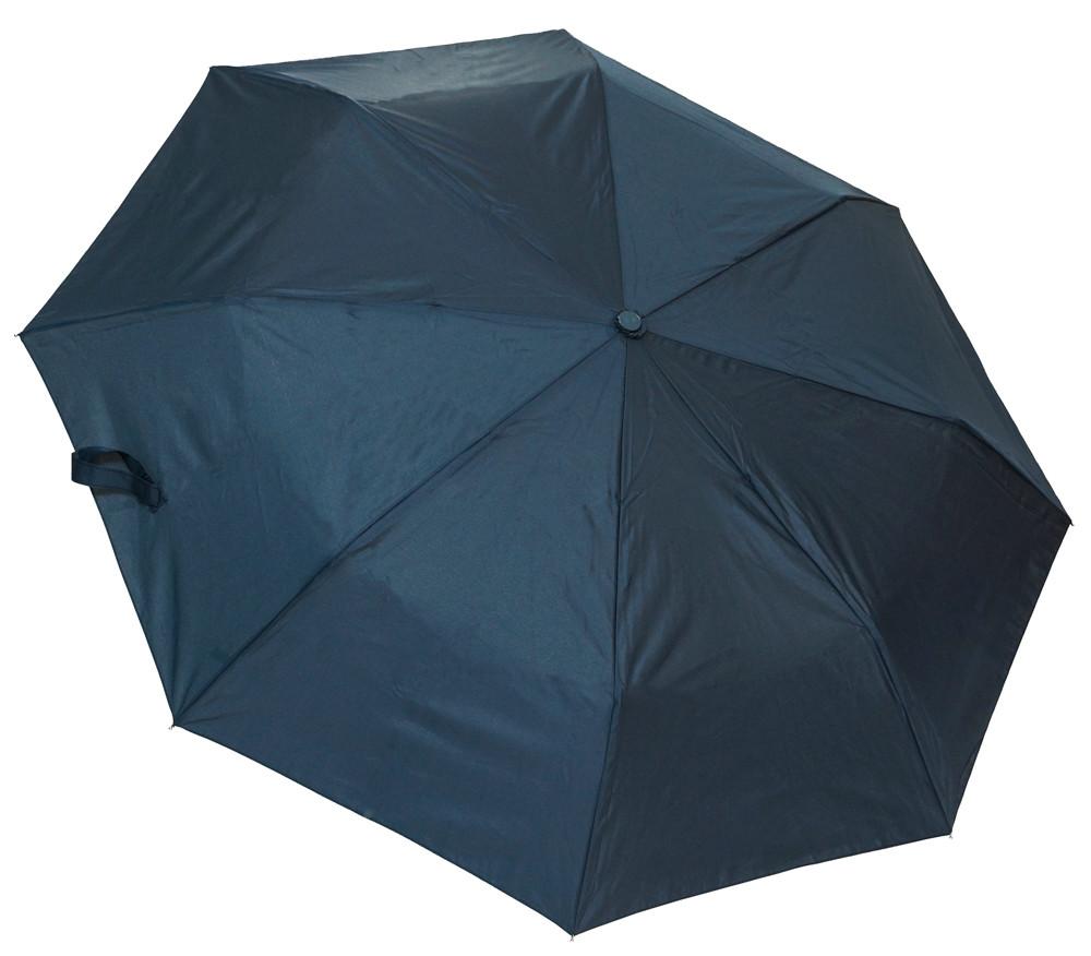 Однотонный женский зонт F310SL blue