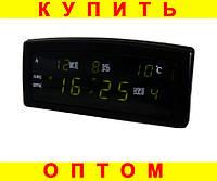 Настольные часы CX 909-A Зеленое свечение
