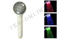 Насадка для душа с LED подсветкой Led Shower S-R9, фото 2