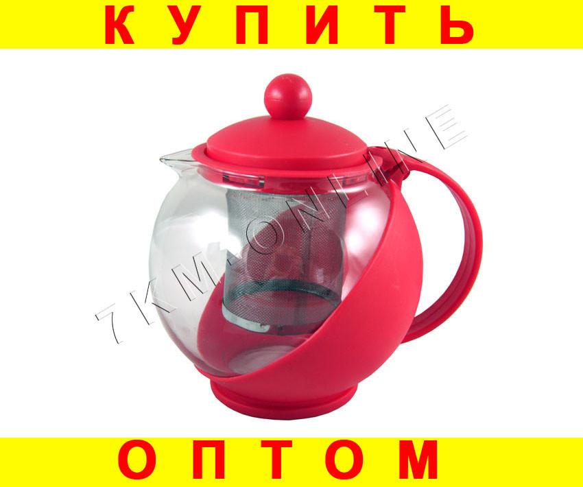 Чайник Заварник Френч пресс стекло --- 3 ЦВЕТА