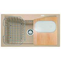 Кухонная мойка Franke Acquario Line AEG 610 (114.0185.318) бежевый 86х50х22,6
