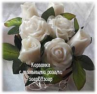 """Набор мыла """"Белые розы"""""""