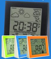 Цифровой термогигрометр с часами и будильником Т-06 (влажность + температура)