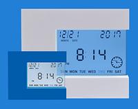 Стильный термометр с часами и будильником Т-08 (влажность + температура) Украина