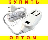 Адаптер зарядное устройство на 6 портов USB