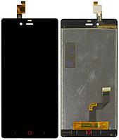 Дисплей (экраны) для телефона ZTE Nubia Z9 Mini + Touchscreen Original Black