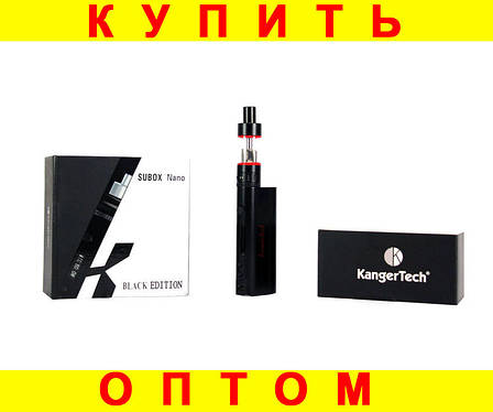 Электронная сигарета Subox Nano Kangertech + ПОДАРОК: Настенный Фонарик с регулятором BL-8772A, фото 2
