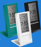 Цифровой термогигрометр с часами Т-14