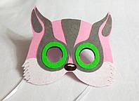 Карнавальная маска Шуга (Сумчатые летяги) для сюжетно ролевых детских игр Юхо и его друзья
