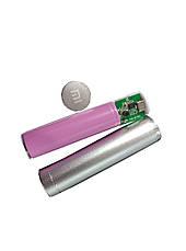 Power Bank портативная зарядка 2600mAh метал, фото 3