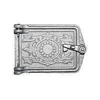 Дверца поддувочная чугун (малая)