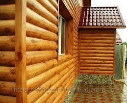Блок Хаус Бревно для частного дома
