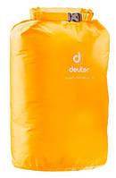Водонепроницаемый чехол для вещей Light Drypack 25 цвет 8000 желтый DEUTER 39282.