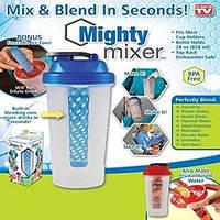 Шейкер для коктейля Mighty Mixer - ручной миксер, Ручной миксер-бутылочка, Стакан Шейкер