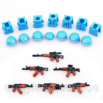 Набор ООН + оружие, фото 2