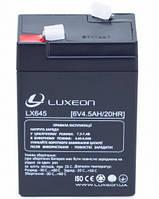 Аккумуляторная батарея LUXEON LX 645 6V 4,5 Ah