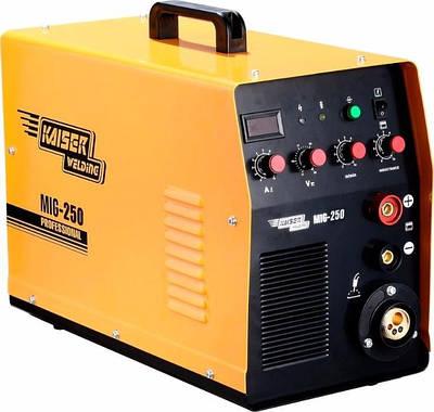 Сварочный инвертор полуавтомат Kaiser MIG-250 2в1