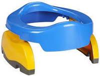 Дорожный горшок аналог Potette Plus (голубой)