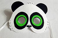 Карнавальная маска Ринг ринг (панда) для сюжетно ролевых детских игр Юхо и его друзья
