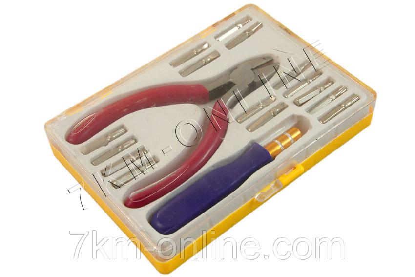 Набор отверток для ремонта мобильных телефонов + кусачки