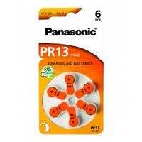 Батарейка ZA13 Panasonic для слухов. аппаратов