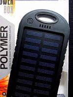 Купить оптом Портативный аккумулятор  POWER BANK SOLAR+LED 10800mAh UKC