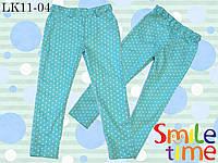 Брюки-скинни для девочки облегченные р. 98,110 SmileTime детские Sweet Dream, мятный г, фото 1