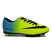 Футбольные бутсы (копочки) подростковые (аналог Nike Mercurial) 36