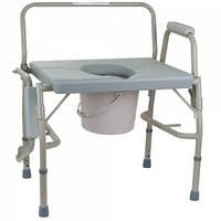 Усиленный стул-туалет OSD-BL740101, нагрузка 225 кг.