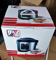 Мультиварка для дома Promotec PM-519 на 5 литров и 45 автоматических режимов приготовления.