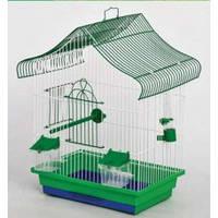 "Клетка ""МИНИ-1""для птиц, попуга, 33х23х45 см, никель"