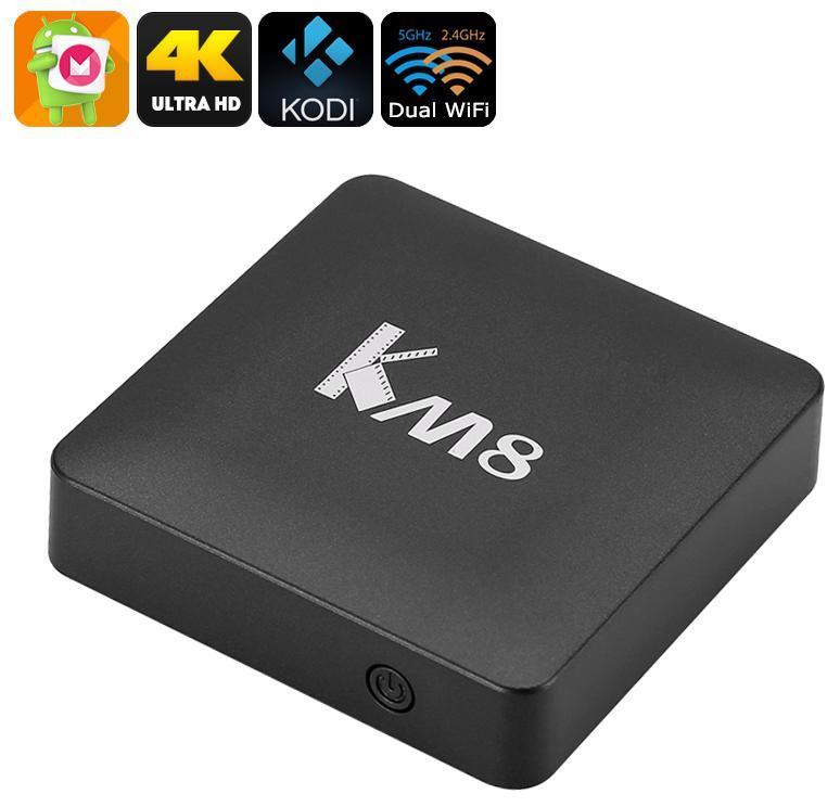 KM8 2/16GB Smart TV (смарт тв) Android приставка , фото 1