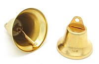 Колокольчик сувенирный, 35 мм, золотистый
